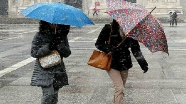 Maltempo, neve, vento, Sicilia, Cronaca