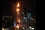 Dubai, rogo in hotel: fiamme dal 20esimo piano del grattacielo