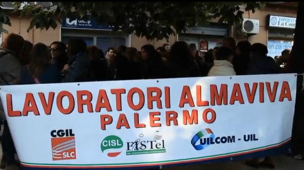 almaviva, call center, LAVORO, vertenza, Palermo, Economia