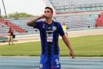 Il nuovo attaccante del Palermo Manuel Arteaga
