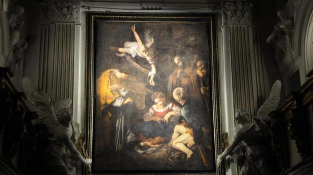 natività, quadro, sky, Sergio Mattarella, Palermo, Cultura