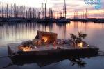 """""""Natale al porto"""" a Marina di Ragusa, inaugurato presepe galleggiante"""