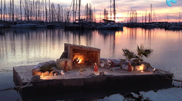 Marina di Ragusa, presepe galleggiante, Ragusa, Cultura