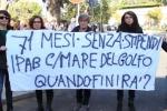 Una protesta dei dipendenti Ipab dei mesi scorsi
