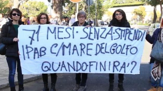 ipab, regione, stipendio, Palermo, Politica