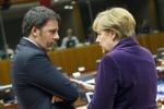 """Renzi attacca sulla crisi dei rifugiati: """"No ad una Ue a guida tedesca"""""""