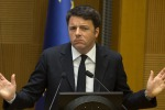 "Renzi: ""Sospensione di Schengen non bloccherà i terroristi"""