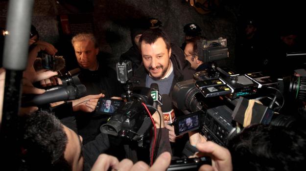 capodanno, discorso presidente della repubblica, Lega Nord, Matteo Salvini, Sergio Mattarella, Sicilia, Politica