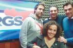 I dj di Rgs: Max Sajeva, Max Albegiani, Filippo Marsala e Marina Mistretta