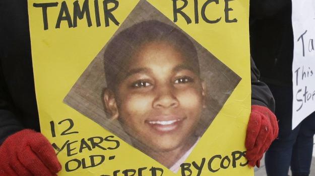 poliziotto, ragazzo afroamericano, Tamir Rice, Sicilia, Mondo