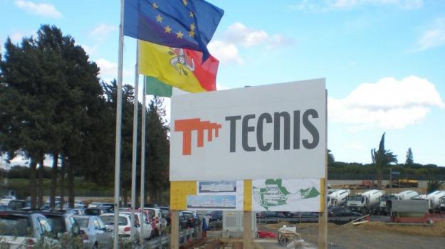LAVORO, protesta, Tecnis, Catania, Economia