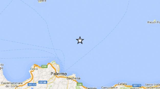 scossa, terremoto, terremoto palermo, Palermo, Cronaca