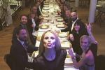Michelle Hunziker festeggia i suoi 39 anni al Trussardi Cafè - Le foto