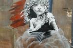 Bansky censurato a Londra: la sua opera critica la Francia