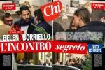 """Belen e Borriello a Cortina: le foto di """"Chi"""" scatenano il gossip"""