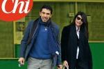 Buffon-D'Amico: le prime foto con Leopoldo Mattia