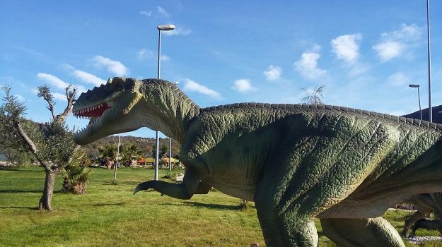 dinosauri, google arts, Sicilia, Società