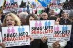 """Unioni civili, Circo Massimo pieno per il Family Day. Organizzatori: """"Siamo 2 milioni"""" - Le foto"""