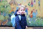 Primo giorno di scuola per il principino George: le foto