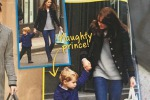 Lo shopping di Kate insieme al piccolo George: le foto