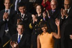 Look da first lady: Michelle Obama sceglie ancora Narciso Rodriguez
