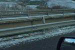 Abbondante nevicata nel Nisseno, mezzi bloccati e disagi sulla statale