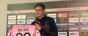"""Palermo, la carica di Balogh: """"Felice del rientro, voglio segnare il mio primo gol"""""""