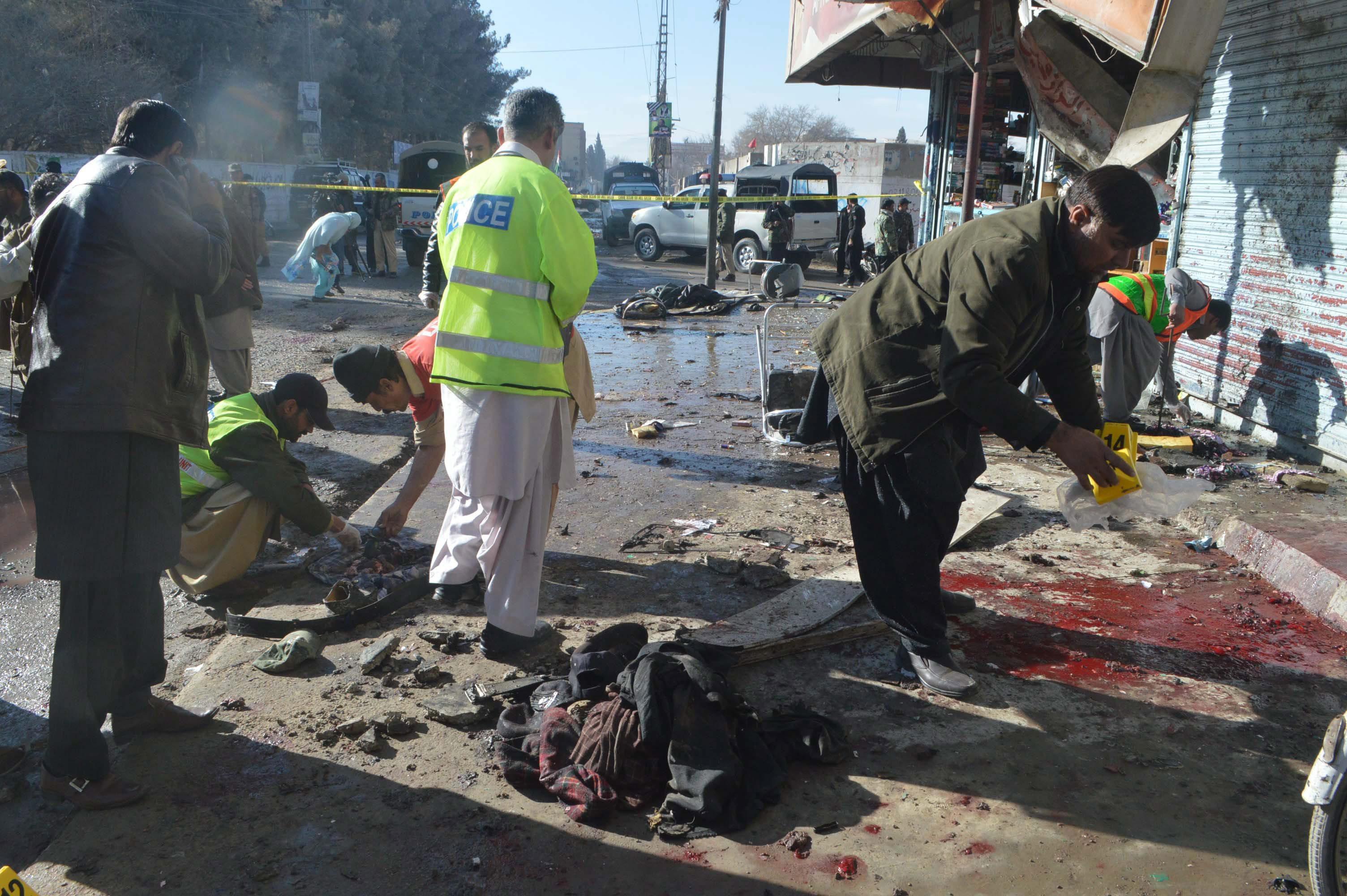 Zamach Photo: Tragico Attentato In Pakistan: Uccise 14 Persone