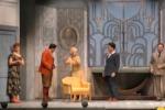 Favino sul palco del teatro Biondo a Palermo