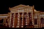 Video mapping al Massimo di Palermo: show di luci per l'avvio della stagione lirica