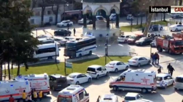 Isis, istanbul, terrorismo, Turchia, turisti tedeschi, Sicilia, Mondo