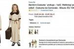 """Su Amazon in vendita costumi da """"piccolo profugo"""" per carnevale"""