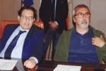 Crocetta con il presidente di Riscossione Sicilia Antonio Fiumefreddo