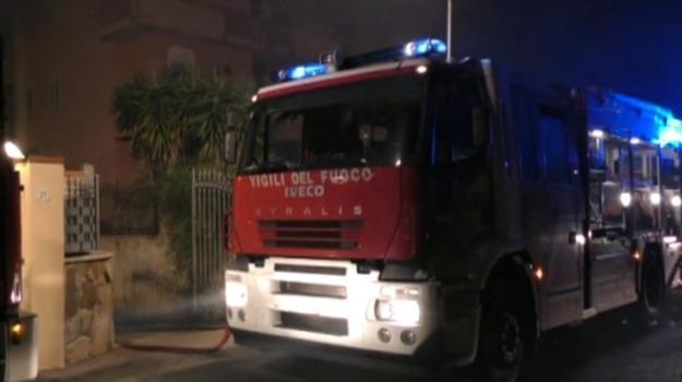 incendio, panificio, Palermo, Cronaca