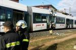 Scontro tra due treni della metro a Cagliari: 85 feriti, 2 gravi