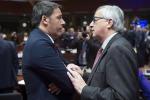 """Renzi su flessibilità: """"Juncker non d'accordo? Decide Commissione"""""""