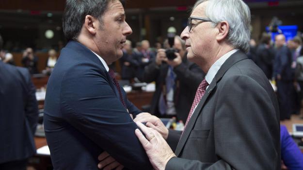 bruxelles, comunicazione, governo, premier, roma, tensioni, ue, Sicilia, Politica