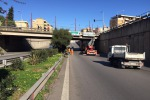 Lavori in viale Regione a Palermo e traffico in tilt, carreggiate centrali riaperte nel pomeriggio