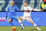 Il Milan frena con un ottimo Empoli L'Europa che conta sempre più lontana