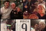 Studente gelese con la sua maglia, Morata gli offre la cena