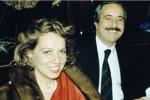 Francesca Morvillo col marito Giovanni Falcone