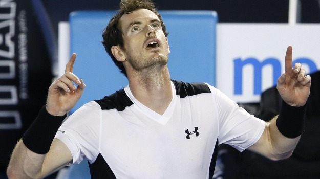 Atp, australian open, Tennis, Andy Murray, David Ferrer, Sicilia, Sport