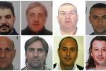Mafia e capitali illeciti a Catania, nomi e foto degli arrestati