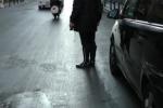 Palermo, donna investita da moto in corso Vittorio Emanuele - Video
