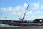 Conclusi i lavori di allungamento del molo Santa Lucia al porto - Video