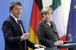 Prove di intesa tra Renzi e Merkel, resta il nodo della flessibilità