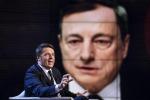 """Renzi a Mantova: """"Non rinuncio a difendere l'interesse nazionale"""""""