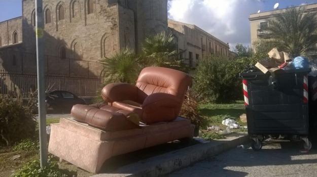 buche, marciapiedi, rifiuti, TRAFFICO, Palermo, Cronaca