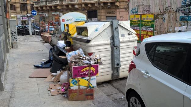 buche, marciapiedi, rifiuti, traffico, trasporti, Palermo, Voci dalla città