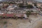 Un rudere abbandonato nella spiaggia di San Leone - Video